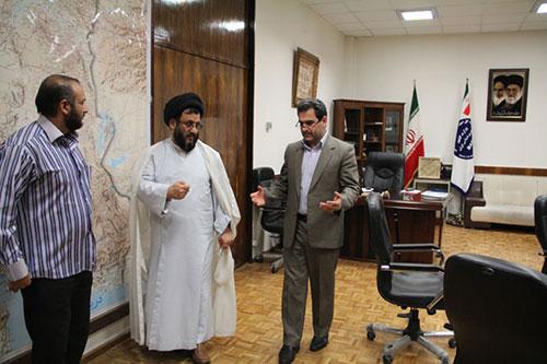 دیدار با کاظمی رئیس اداره امور اتباع و مهاجرین خارجی