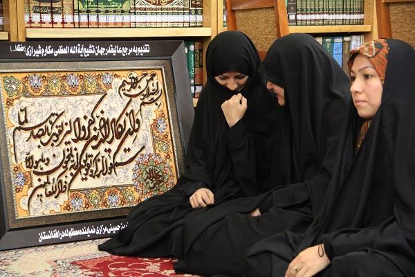 دیدار با آیت الله مکارم شیرازی در قم